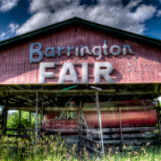 Great BArrington MA Fair Grounds Horse Race Track
